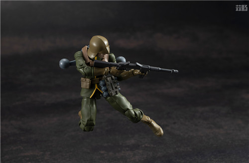 MegaHouse推出GMG《机动战士高达》吉恩公国普通士兵可动人偶 模玩 第6张