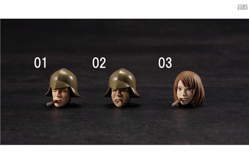 MegaHouse推出GMG《机动战士高达》吉恩公国普通士兵可动人偶 模玩 第9张