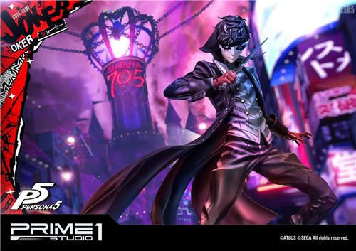P1S推出Premium Masterline《女神异闻录5》Joker 1/4雕像 Joker 女神异闻录5 P1S 模玩  第1张