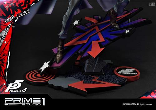 P1S推出Premium Masterline《女神异闻录5》Joker 1/4雕像 Joker 女神异闻录5 P1S 模玩  第4张