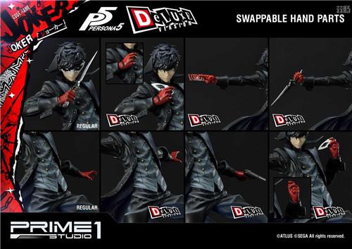 P1S推出Premium Masterline《女神异闻录5》Joker 1/4雕像 Joker 女神异闻录5 P1S 模玩  第11张