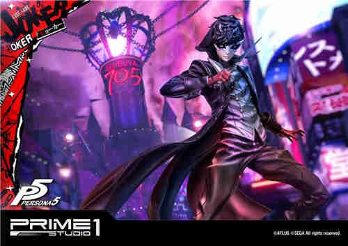 P1S推出Premium Masterline《女神异闻录5》Joker 1/4雕像