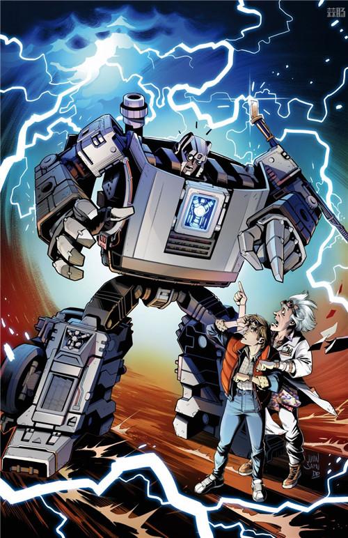 孩之宝推出《回到未来》联动变形金刚千兆瓦 变形金刚 第8张