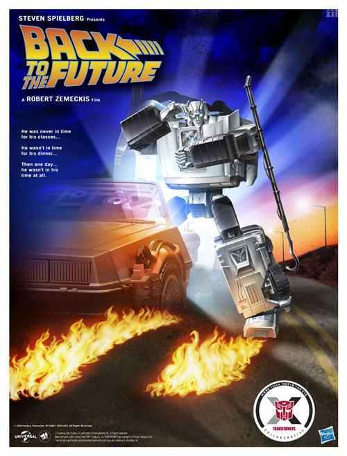 孩之宝推出《回到未来》联动变形金刚千兆瓦 变形金刚 第9张