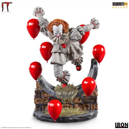 Iron Studios推出《小丑还魂2》潘尼怀斯1/10豪华版雕像 潘尼怀斯 小丑还魂2 Iron Studios 模玩  第1张