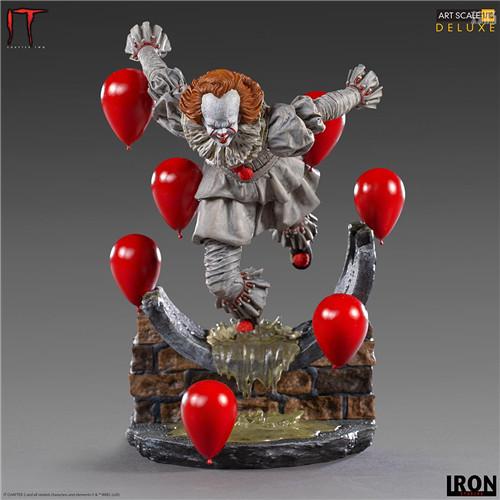 Iron Studios推出《小丑还魂2》潘尼怀斯1/10豪华版雕像 潘尼怀斯 小丑还魂2 Iron Studios 模玩  第2张