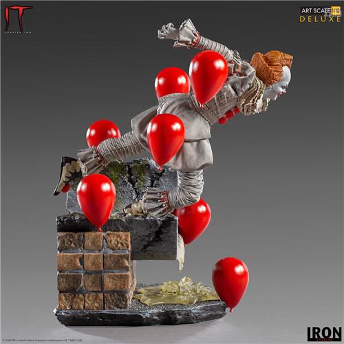 Iron Studios推出《小丑还魂2》潘尼怀斯1/10豪华版雕像 潘尼怀斯 小丑还魂2 Iron Studios 模玩  第5张