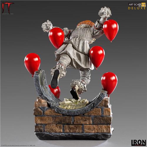 Iron Studios推出《小丑还魂2》潘尼怀斯1/10豪华版雕像 潘尼怀斯 小丑还魂2 Iron Studios 模玩  第4张