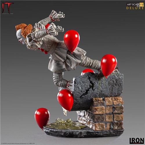 Iron Studios推出《小丑还魂2》潘尼怀斯1/10豪华版雕像 潘尼怀斯 小丑还魂2 Iron Studios 模玩  第3张