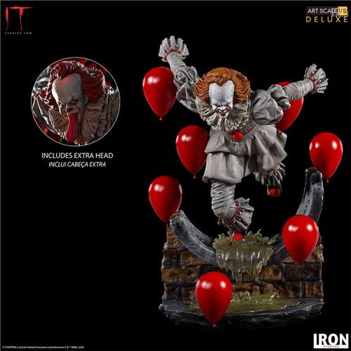 Iron Studios推出《小丑还魂2》潘尼怀斯1/10豪华版雕像 潘尼怀斯 小丑还魂2 Iron Studios 模玩  第6张