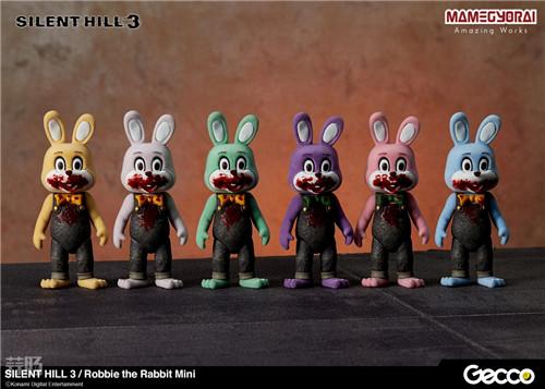 Gecco推出《寂静岭3》罗比兔迷你手办6件套与迷你担架床 模玩 第1张