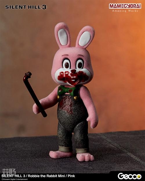 Gecco推出《寂静岭3》罗比兔迷你手办6件套与迷你担架床 模玩 第2张