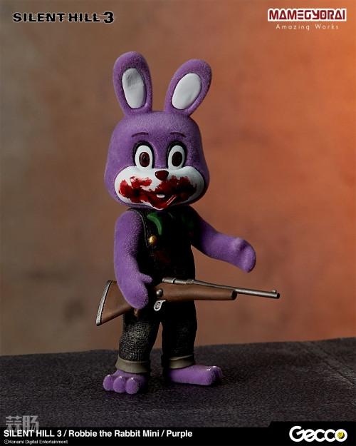 Gecco推出《寂静岭3》罗比兔迷你手办6件套与迷你担架床 模玩 第5张