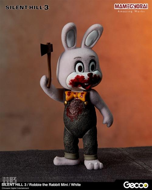 Gecco推出《寂静岭3》罗比兔迷你手办6件套与迷你担架床 模玩 第3张