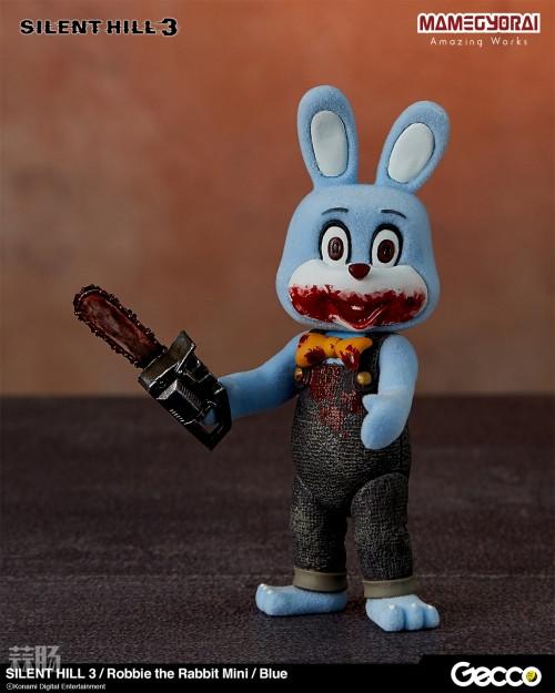 Gecco推出《寂静岭3》罗比兔迷你手办6件套与迷你担架床 模玩 第6张