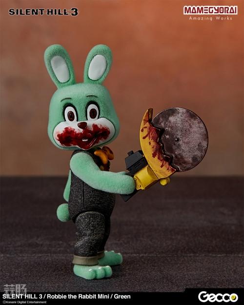 Gecco推出《寂静岭3》罗比兔迷你手办6件套与迷你担架床 模玩 第4张