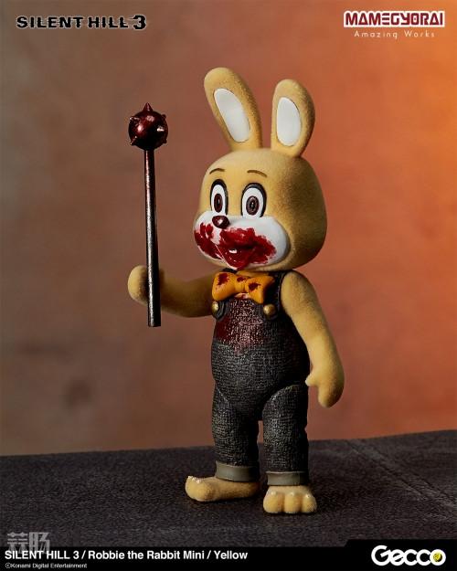 Gecco推出《寂静岭3》罗比兔迷你手办6件套与迷你担架床 模玩 第7张