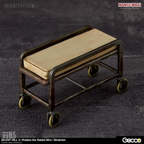 Gecco推出《寂静岭3》罗比兔迷你手办6件套与迷你担架床 模玩 第8张
