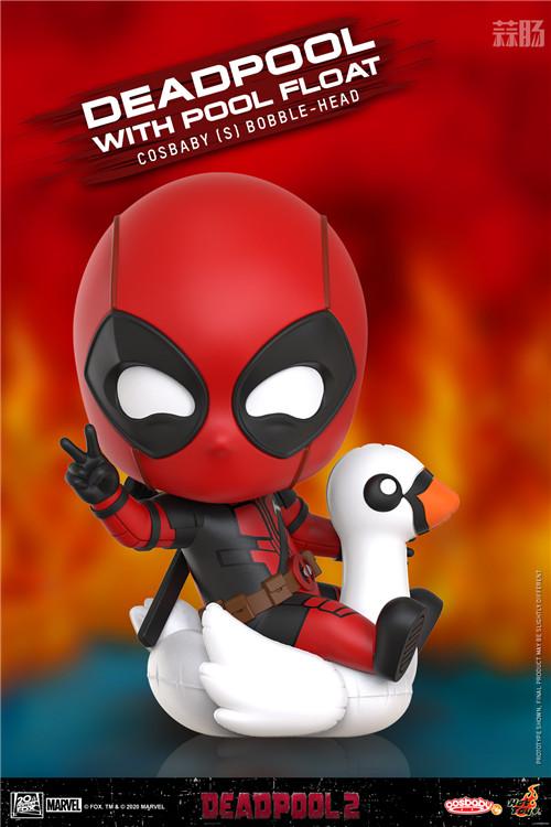 Hot Toys将推出《死侍2》COSBABY系列 模玩 第1张