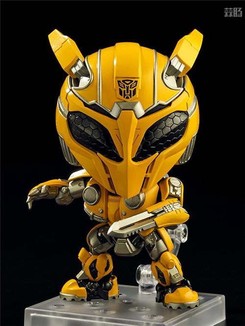 良笑社公开《大黄蜂》擎天柱与大黄蜂可动粘土人 变形金刚 第6张