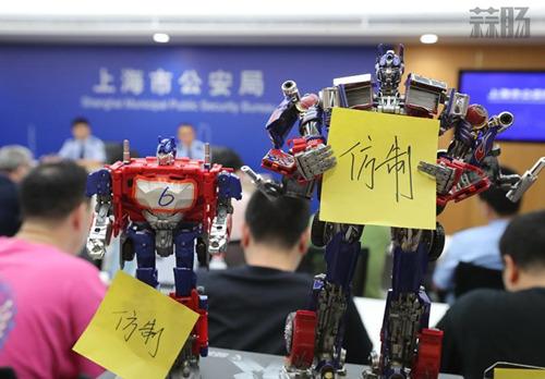 上海公安成功侦破侵犯变形金刚玩具品牌著作权案 威将的陨落 擎天柱 威将 孩之宝 变形金刚  第2张
