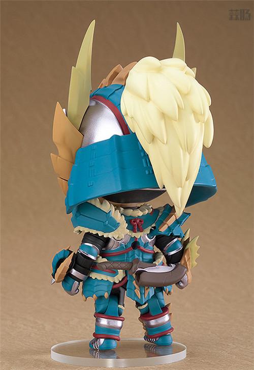 良笑社推出《怪物猎人世界:冰原》雷狼龙套装粘土人 模玩 第2张