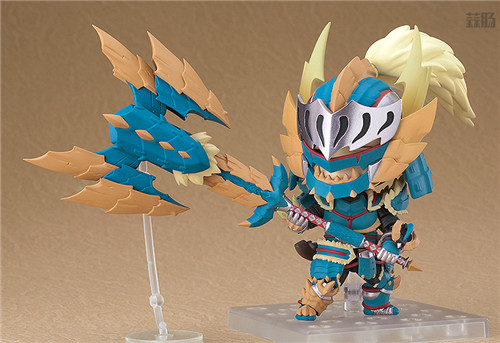 良笑社推出《怪物猎人世界:冰原》雷狼龙套装粘土人 模玩 第7张