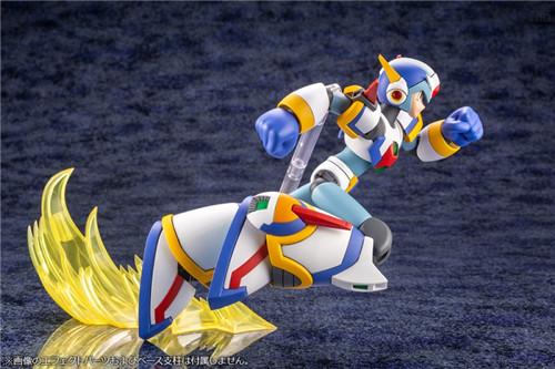 寿屋公开《洛克人X》艾克斯超力装甲1/12可动瓶装模型 拼装模型 艾克斯超力装甲 洛克人X 寿屋 模玩  第8张