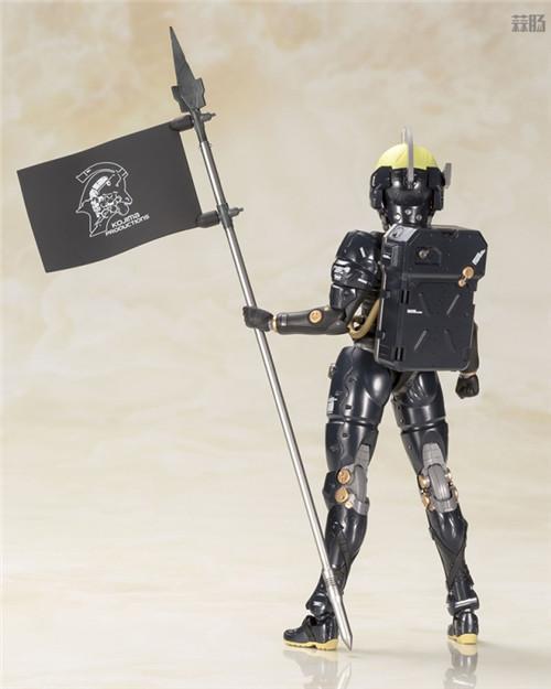 寿屋推出小岛工作室形象Ludens黑色版拼装模型 拼装模型 Ludens 小岛工作室 寿屋 模玩  第3张