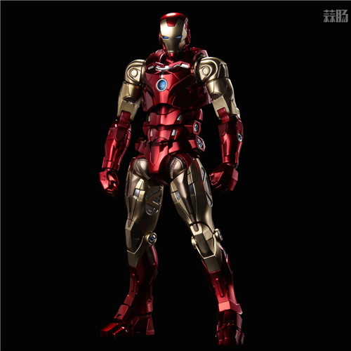 千值练推出新系列Fighting Armor第一弹钢铁侠 模玩 第1张