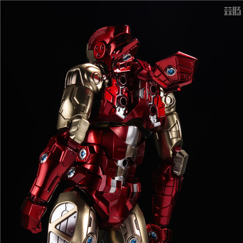 千值练推出新系列Fighting Armor第一弹钢铁侠 模玩 第4张