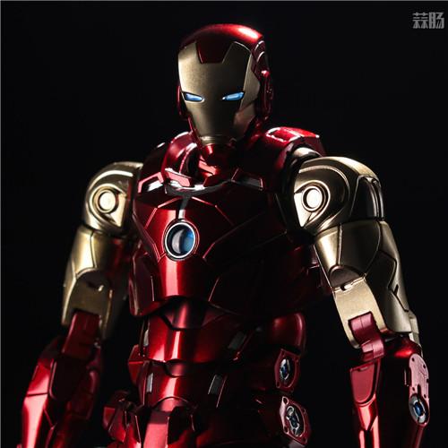 千值练推出新系列Fighting Armor第一弹钢铁侠 模玩 第3张