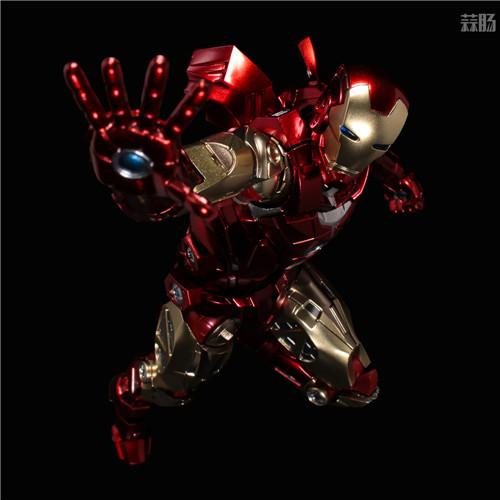 千值练推出新系列Fighting Armor第一弹钢铁侠 模玩 第6张