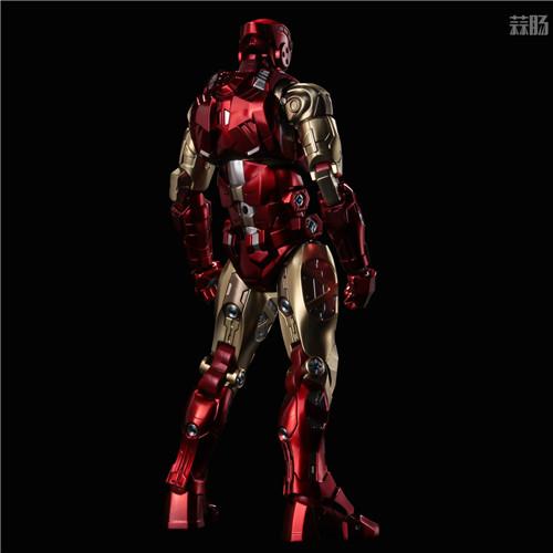 千值练推出新系列Fighting Armor第一弹钢铁侠 模玩 第2张