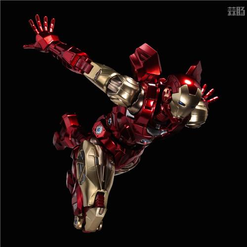 千值练推出新系列Fighting Armor第一弹钢铁侠 模玩 第7张