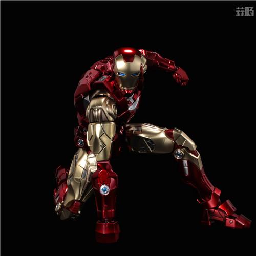 千值练推出新系列Fighting Armor第一弹钢铁侠 模玩 第5张