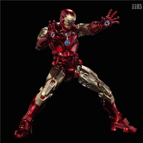 千值练推出新系列Fighting Armor第一弹钢铁侠 模玩 第8张