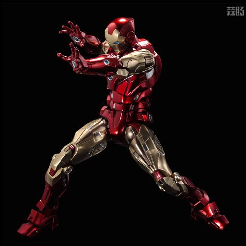 千值练推出新系列Fighting Armor第一弹钢铁侠 模玩 第9张