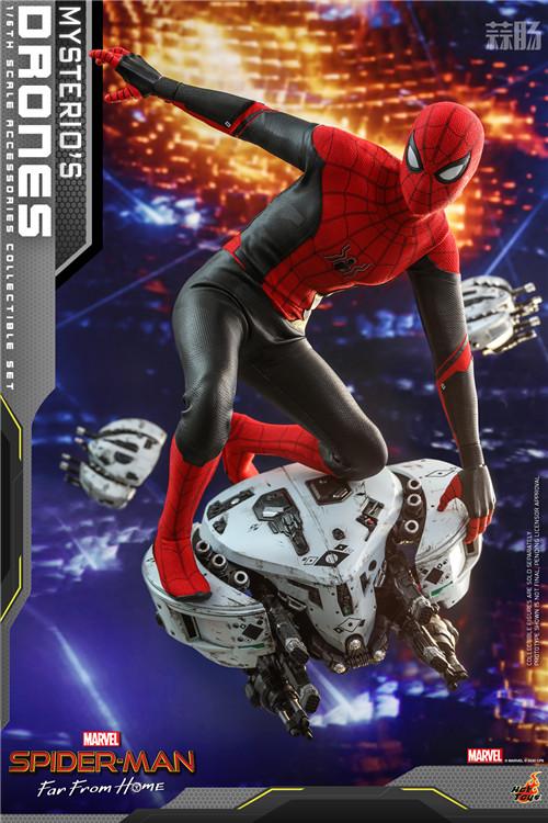 Hot Toys推出《蜘蛛侠: 英雄远征》神秘客无人机1/6套装 模玩 第1张