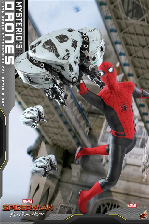 Hot Toys推出《蜘蛛侠: 英雄远征》神秘客无人机1/6套装 模玩 第3张