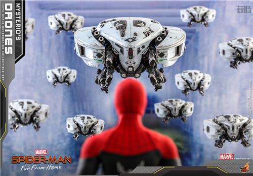 Hot Toys推出《蜘蛛侠: 英雄远征》神秘客无人机1/6套装 模玩 第4张