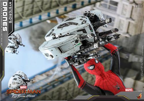 Hot Toys推出《蜘蛛侠: 英雄远征》神秘客无人机1/6套装 模玩 第5张