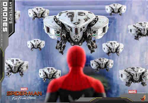 Hot Toys推出《蜘蛛侠: 英雄远征》神秘客无人机1/6套装