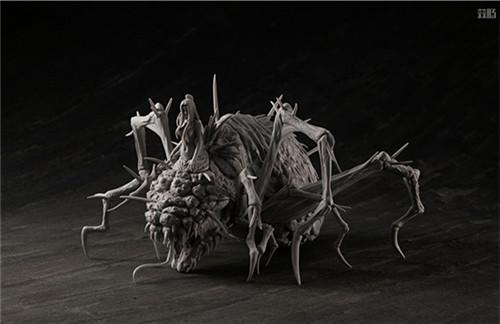 MegaHouse公开《黑暗之魂》魔女克拉格与高等骑士拼装模型 模玩 第3张