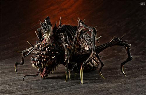 MegaHouse公开《黑暗之魂》魔女克拉格与高等骑士拼装模型 模玩 第4张