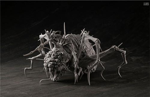 MegaHouse公开《黑暗之魂》魔女克拉格与高等骑士拼装模型 模玩 第5张