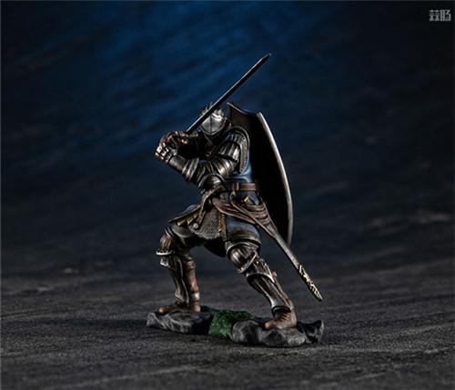 MegaHouse公开《黑暗之魂》魔女克拉格与高等骑士拼装模型 模玩 第8张