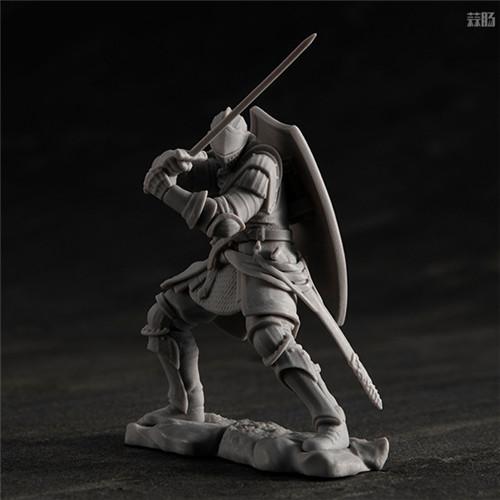 MegaHouse公开《黑暗之魂》魔女克拉格与高等骑士拼装模型 模玩 第9张