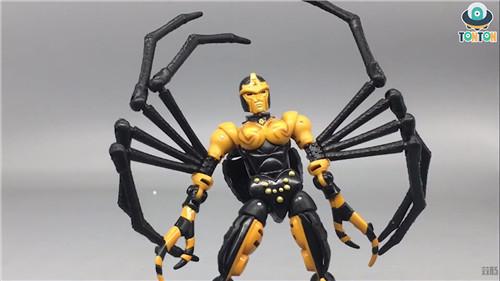 变形金刚Kingdom王国系列毒蜘蛛玩具实物图流出 变形金刚 第4张
