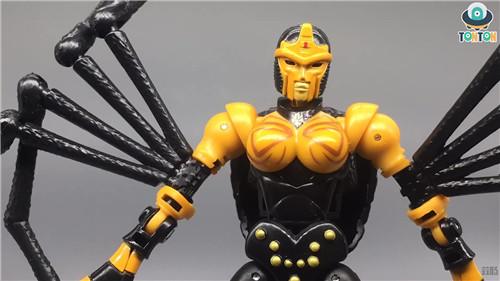 变形金刚Kingdom王国系列毒蜘蛛玩具实物图流出 变形金刚 第7张